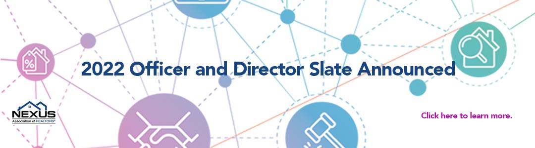2022 Officer & Director Slate